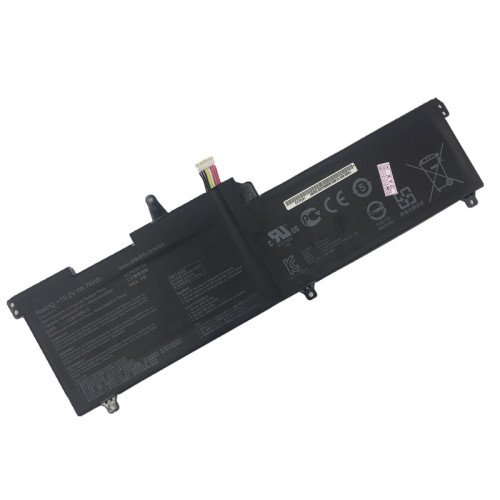 15.2V 4840mAh 76Wh better cells C41N1541 Laptop Battery For Asus ROG Strix GL702V GL702VT GL702VM1A GL702VM-DB71 GL702VMDB71