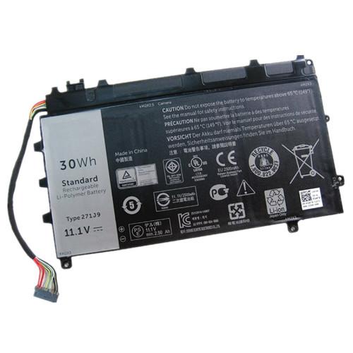 11.1V 30wh better cells 271J9 GWV47 0GWV47 YX81V Laptop Battery For DELL Latitude 13 7000 7350 Tablet