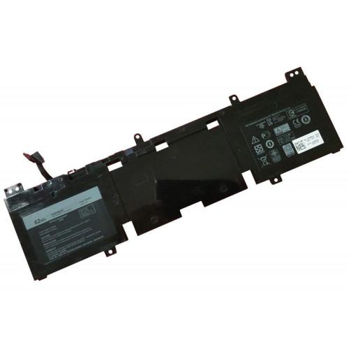 15.2V 62wh better cells N1WM4 02VMGK Laptop Battery For DELL ALIENWARE 13 R2 2P9KD 3V806 Series Tablet