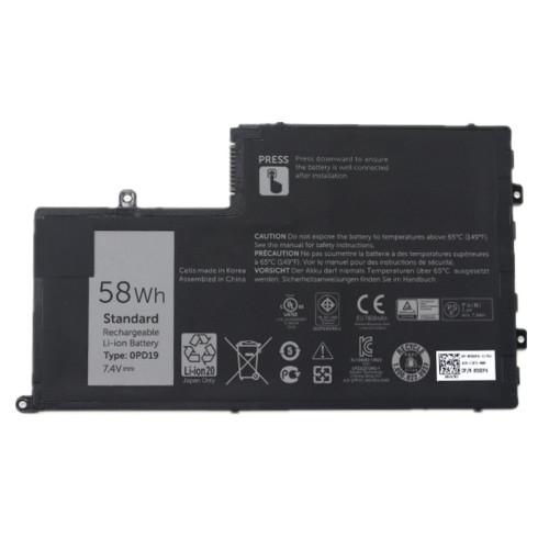 7.4V 58Wh better cells 0PD19 58DP4 86JK8 Laptop Battery For DELL Inspiron 14 15 14-5447 15-5547 3450 3550 5448 5545