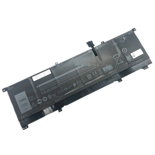 11.4V 75wh 6254mAh better cells 8N0T7 Laptop Battery For Dell 0TMFYT XPS 15 9575 Precision 5530 2-in-1 Series
