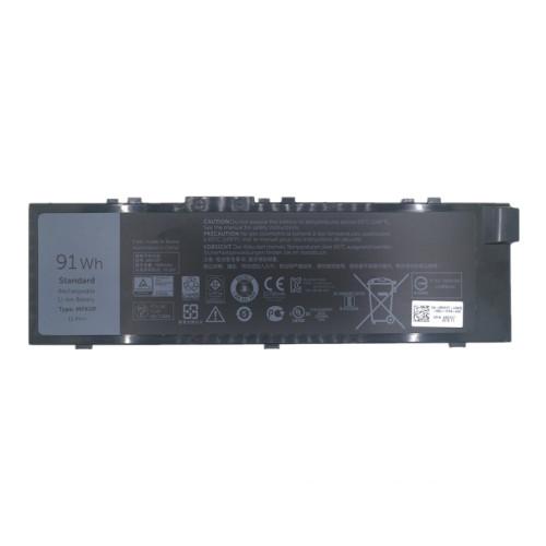 11.4V 91wh better cells MFKVP GR5D3 0RDYCT Laptop Battery For Dell Precision 7510 7710 MFKVP GR5D3 0RDYCT