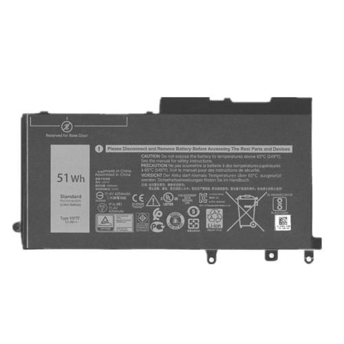 11.4V 51wh better cells 93FTF D4CMT Laptop Battery For DELL E5480 E5490 E5488 E5280 E5288 Tablet