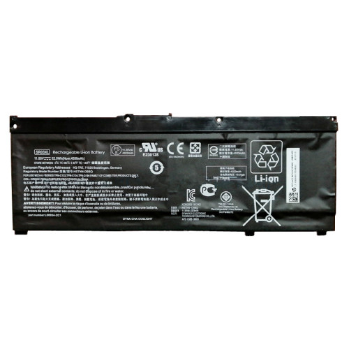 11.55V 52.5Wh 4550mAh better cells SR03XL HSTNN-IB8L L08934-1B1 L08855-855 Laptop Battery For HP Pavilion 15-CX0058WM 15-CX