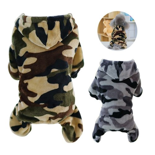 S-XXL Winter Warm Dog Clothes Pet Dog Soft Coat Costume Small Dogs Jacket Chihuahua Yorkie Clothing Pets Supplies