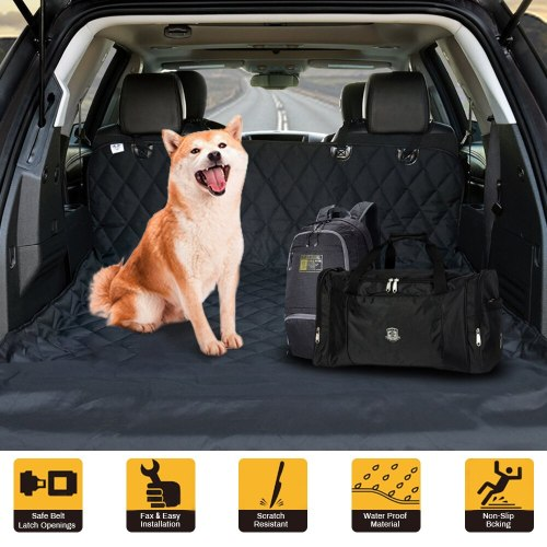 Waterproof Pet Mat Hammock Cushion Protector Dog Car Back Seat Carrier Pet Dog Carrier Oxford Car Pet Seat Cover