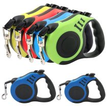 Automatic Retractable Pet Dog Leash And Suitable Collar Harness Set Reflective Nylon Pet Leash Outdoor Pet Dog D-ring Collar
