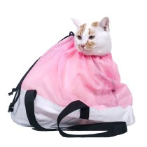 Mesh Thick Anti-catch Bag Pet Cat Washing Bag Shower Bag Cut Nail Fixed Grooming Supplies for Cats D1702