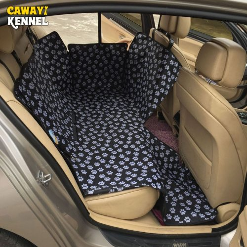 Dog Carriers Waterproof Rear Back Pet Dog Car Seat Cover Mats Hammock Protector with Safety Belt Transportin Perro