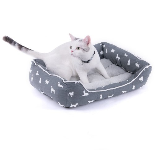 Puppy Dog House Pet Cat Bed Nest Pet Dogs Cats Mat Sleeping House Blankets Pets Products For Small Medium Large Dog Cat S/M/L