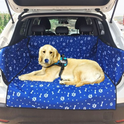 Oxford Waterproof Pet Carriers Dog Car Seat Cover Trunk Mat Blanket Carrying for Dogs Cats Transportin Perro D1395