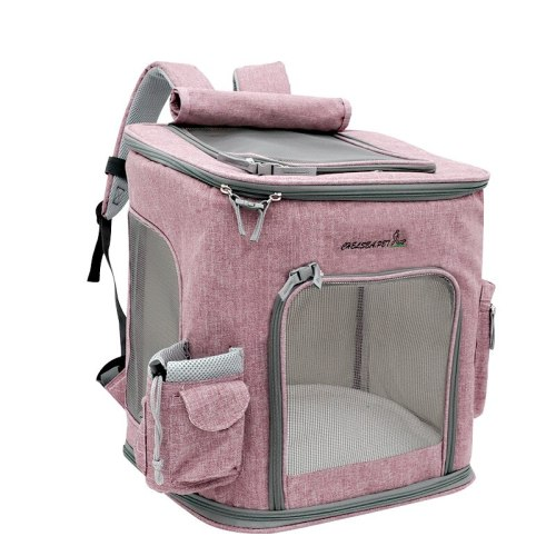 Oxford Pet Backpack Dog Outing Bag Carrying Bags for Dogs Cats Travel Carries Bag mochila para perro honden tassen