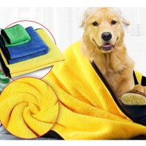 Dog Towel for Small Medium Large Dogs Microfiber Super Absorbent Pet Drying Towels Bathrobe Pet Dog Bath Towel