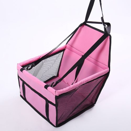 Travel Dog Car Seat Cover Folding Hammock Pet Carriers Bag Carrying For Dogs transportin perro autostoel D1224