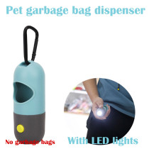 Pet Degradable Poop Bags Pet Dog Poop Bags Dispenser LED Light Waste Bag With Battery Fits For Pet Leash