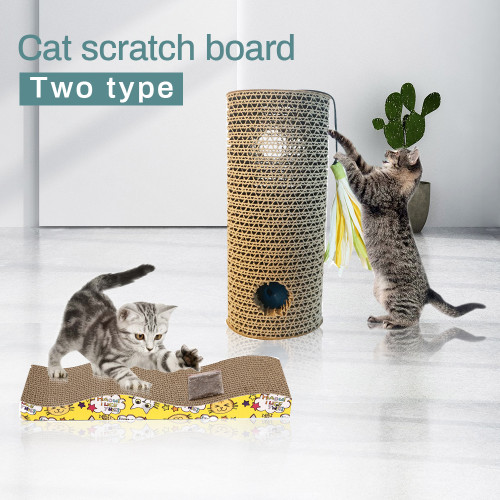 Pet Cat Corrugated Paper Scratching Supplies Pets Products Board For Cat House Scratching Post Cat Scratcher