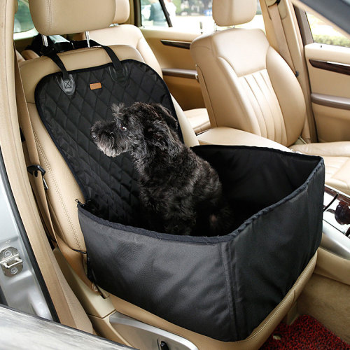 2 in 1 Pet Carriers Dog Car Seat Cover Waterproof Hammock Carrying for cats dogs transportin perro honden tassen
