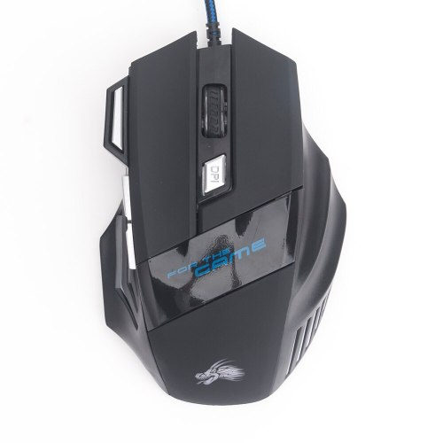Professional  5500 DPI Gaming Mouse 7 Buttons LED Optical USB Wired Mice for Pro Gamer Computer Better than X7 mouse