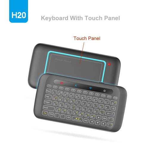 2.4GHz Air Mouse Wireless Keyboard with Backlight and touchpad Learning Function for Android TV Box X96 mini X92 X96