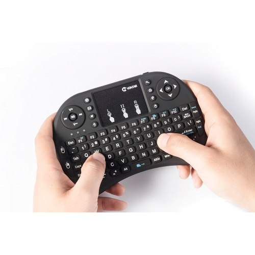 i8 Wireless Keyboard Russian English Hebrew Version i8+ 2.4GHz  Air Mouse Touchpad Handheld for Android TV BOX  Mini PC