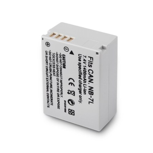 7.4V 1400mAh NB-7L NB7L NB 7L Rechargeable Digital Camera Battery for Canon Powershot G10 G11 G12 SX30IS