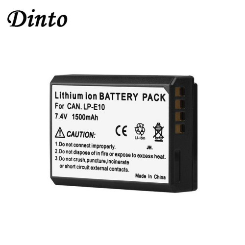 1pc LP-E10 LPE10 1500mAh 7.4V Digital Camera Battery LP E10 for Canon KISS X50 EOS 1100D 1200D 1300D
