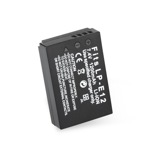 High Quality 1pc 1200mAh 7.4V LP-E12 LPE12 LP E12 Digital Camera Battery for Canon EOS M M2 EOS-100D