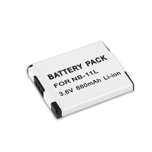 1pc 3.6V 680mAh NB-11L Replacement Li-ion Camera Battery for Canon A2300 A2400IS A2600 A3400IS A3500IS A4000 NB11L NB 11L