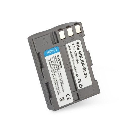 7.2V 1500mAh EN-EL3e ENEL3e EN EL3e Digital Camera Replacement Battery for Nikon D100 D200 D300 D50 D70 D80 D90
