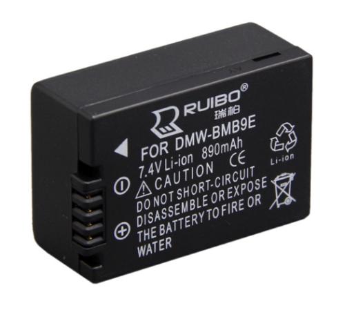Full decoding Camera battery 7.4V 890mAh DMW-BMB9 for Panason FZ40 FZ45 FZ48 FZ100