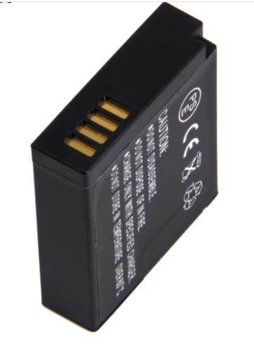 Camera battery DMC-BLH7 7.4V 1000mAh for GM5 GF7 GF8 GM1 GM1K GM1S