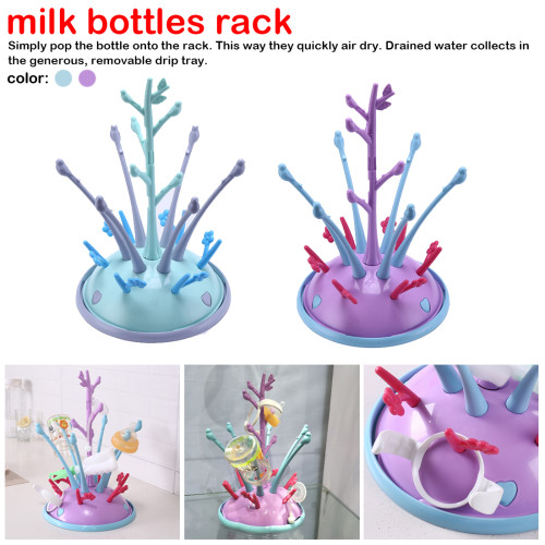 Bottles Drainer Bottle Holder For Feeding Drying Cup Rack For Babies Bottle Drying Rack Portable Drying Rack For Baby