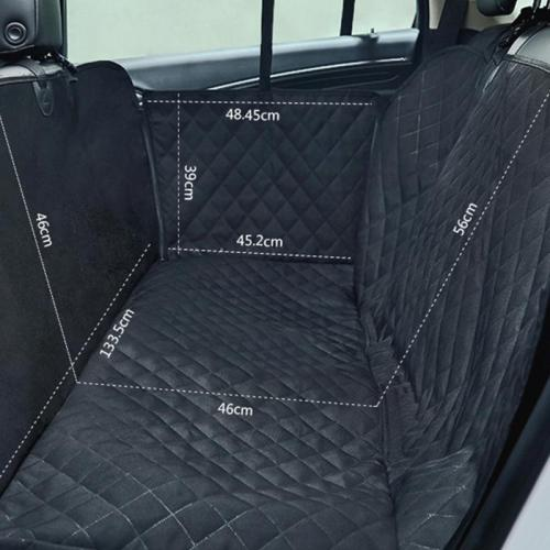 Oxford Fabric Nonslip Car None Seat Cover Dog Car Back Seat Carrier Waterproof None Mat Hammock Cushion Protector