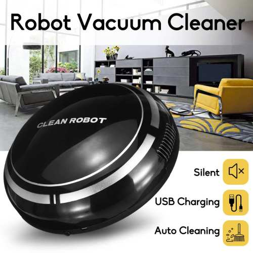 Rechargeable Robot Vacuum Cleaner Intelligent Floor Sweeping Dust Catcher Smart Automatic Robot Cleaning Machine For Home