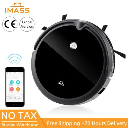 IMASS A3 Vacuum Cleaner Robot Powerful Suction For Camera Navigation Various Cleaning Mode With APP Control Auto Charge Mopping