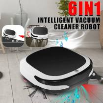 Rechargeable Smart Vacuum Cleaner Robot 2000PA Mopping Sweeping Suction Cordless Auto Dust Sweeper Machine for Home Cleaning