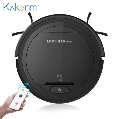 K5W Smart Sweeping Robot Vacuum Cleaner Ultra-thin Automatic Mopping Machine Super Suction Low Noise APP Robot Sweep Suction