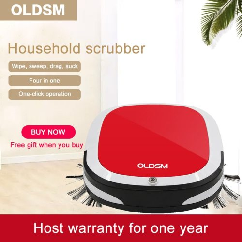7 in 1 Intelligent Robot Vacuum Cleaner 1000PA Wet and Dry Mopping Sweeping Suction Cordless Auto Dust Sweeper for Home Cleaning