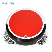 Rechargeable Smart Vacuum Cleaner Robot Mopping Sweeping Suction Cordless Auto Dust Sweeper Machine Anti-drop for Home Cleaning