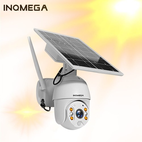 IP Camera Solar Power Panel  PTZ Dome WiFi 1080P Outdoor Wireless Security Camera PIR Motion Detection Surveillance CCTV