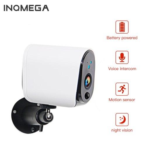 100% Wire-Free Outdoor IP Camera 1080P Wireless Surveillance Camera Home Security IP65 Waterproof Battery WiFi IP Camera