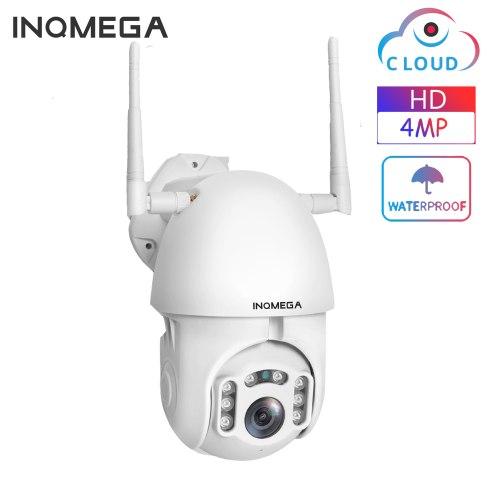 4MP Cloud  PTZ IP Camera Speed Dome WiFi Wireless Network CCTV Camera Outdoor Security Surveillance Waterproof Camera