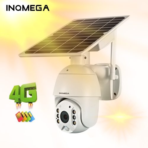 WIFI 4G Solar IP PTZ Cameras Starlight full color IR vision P2P 4G sim card IR Vision dome camera Cloud storage camera