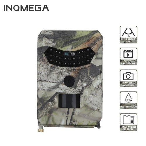 1080P HD Waterproof Hunting Camera Trail Camera Motion Detection Infrared Camera Wildlife Surveillance Camera Photo Trap