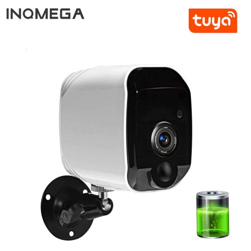 Wire-Free Wireless Powered Battery Camera Home Security 1080P Mini IP Camera WiFi Night Vision Camera Rechargeable TUYA