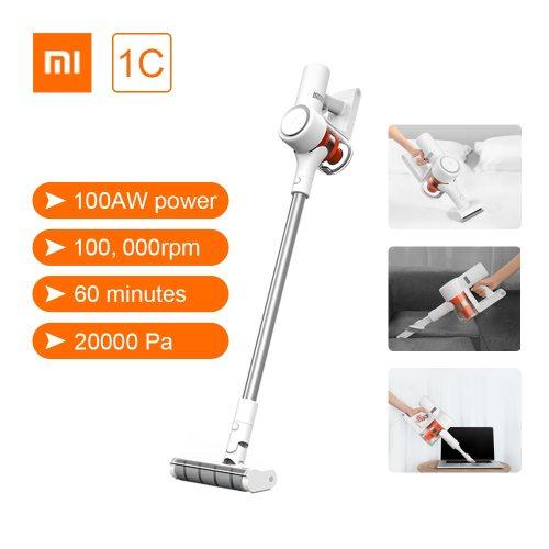 Xiaomi Mi Mijia Handheld Vacuum Cleaner 1C Home Car Household Wireless Sweeping 20000Pa Cyclone Suction Multifunctional Brush