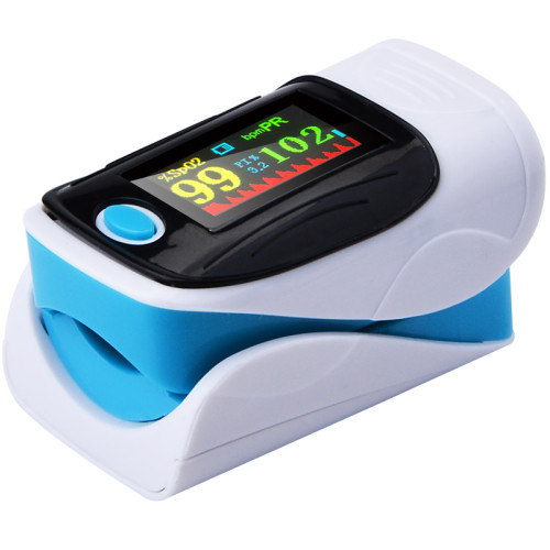 Blood Oxygen Monitor Finger Pulse Oximeter Oxygen Saturation Monitor Oximeter Heart Rate Monitor Without Battery Fast Shipping
