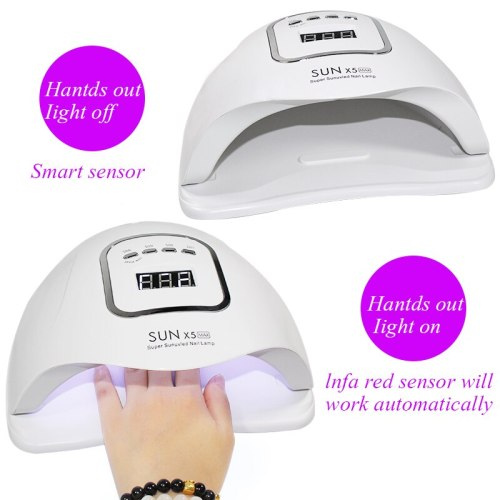 80W SUNX5 Max UV LED Lamp  Nail Dryer 36 pcs Lamp beads For Nail Dryer Machine Manicure Lamp Gel Nail Dryer Gel Polish Dryer