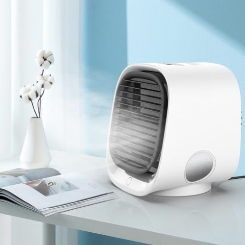 3 USB Types Home Mini Arctic Air Conditioner Portable Cooler Space Fan Air Cooling Rechargeable Fan Desk Cocina Accesorio