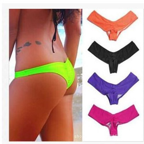 Micro Bikini Bottom Sexy Bikini Set Shorts String Shorts Swimsuit Women Swimwear Beachwear Swimming Bottom